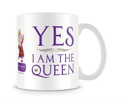 Aunty Acid Yes, I,M The Queen Ceramic Mug