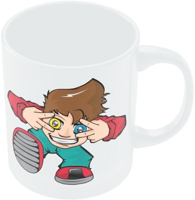 PosterGuy Yolo Quirky Animated Art Illustration Ceramic Mug