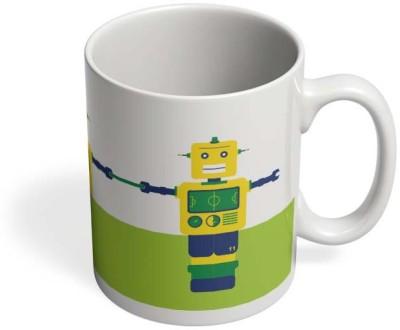 PosterGuy Robot Foosball Brazil Sports, Football, Robot, Play, Game, Brazil, Foosball, Neymar, Ceramic Mug
