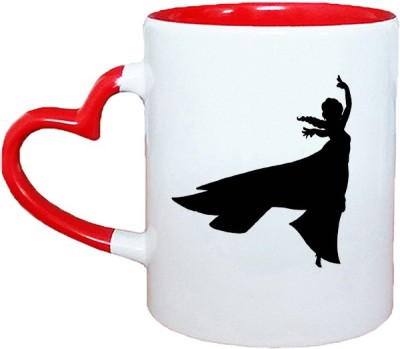 Muggies Magic Horoscope Logo Red Heart Handle 11 Oz Ceramic Mug(325 ml)