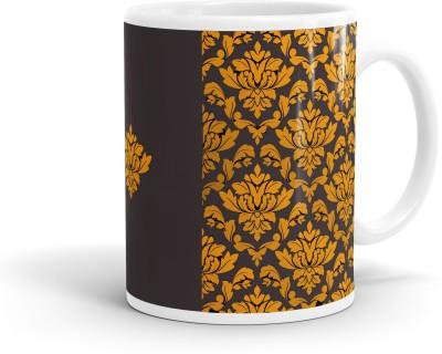Heartzy Royal Golden Pattern  Ceramic Mug
