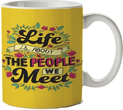 Pentagraphics Life Quotes Ceramic Mug