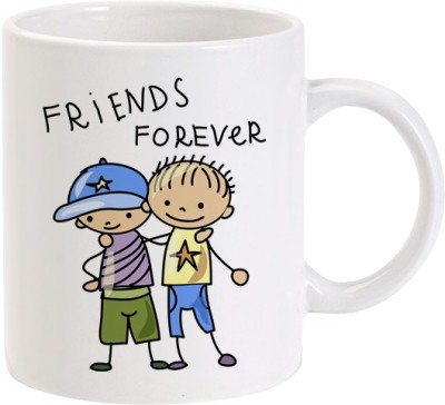 Lolprint Friends Forever Friendship Day Ceramic Mug