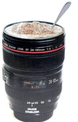 NP Plastics Camera 24-105mm Lens Tea Coffee 480ML -- 1:1 Size Plastic Mug