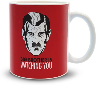 Shoppers Bucket Big Brother is Watching You Ceramic Mug