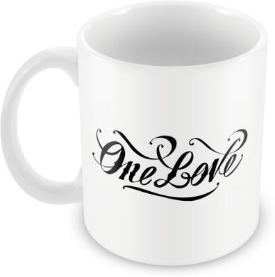 AKUP one-love Ceramic Mug