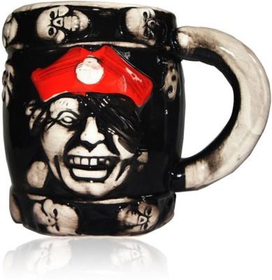 DRL DRL Red Cap Pirate  Porcelain Mug