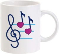 Lolprint Music Notes Heart Beat Ceramic Mug best price on Flipkart @ Rs. 245