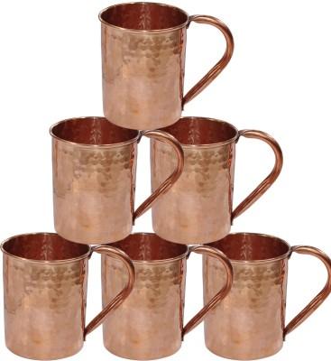 Dakshcraft Drinkware Hammered Copper Moscow Mule Copper Mug