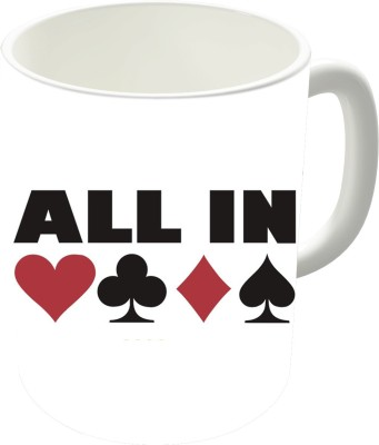 The Fappy Store All In Poker Ceramic Mug
