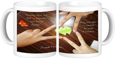 Shopmillions Friends Forever Ceramic Mug