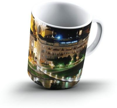 Ucard Landscape2883021 Bone China, Ceramic, Porcelain Mug