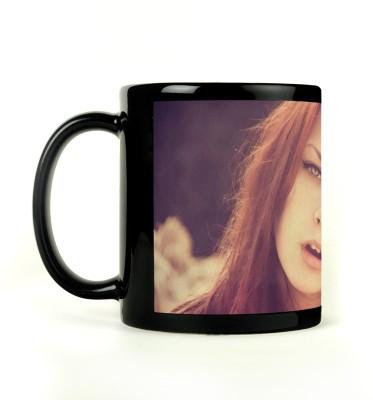AURRA PRINTED BLACK-775 Ceramic Mug