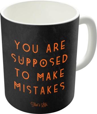 Dreambolic Mistakes Printed Ceramic Coffee Ceramic Mug
