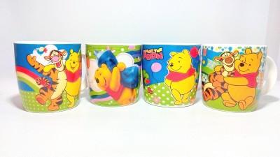 Dayinternational Winnie The Pooh Cup Set Of Four Ceramic Mug