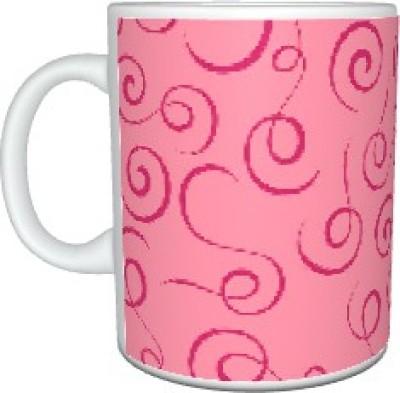 Creatives Ribbons Ceramic Mug
