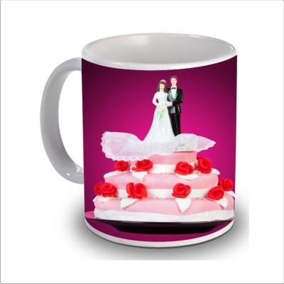 Print Hello happy anniversary 62 Ceramic Mug