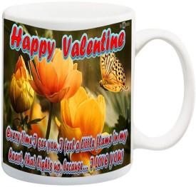 Data Express DataHPVLWife5 1057 Ceramic Mug(325 ml)