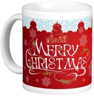 Easyhome Christmas Celebration 350 ml Ceramic Mug