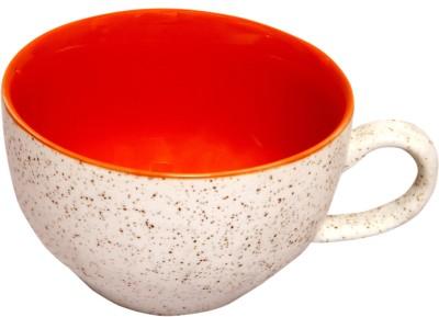 Earthern Blue Speckled Giant Cups Ceramic Mug