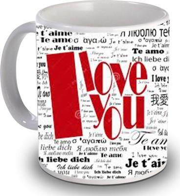 PSK I Love You H169 Ceramic Mug