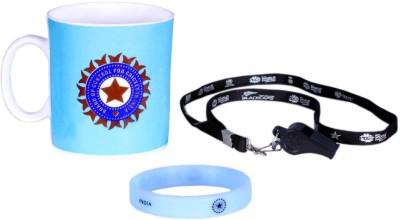 ICC India Cricket Team T20 World Cup Official Cheering Souvenier Kit 1 Ceramic Mug