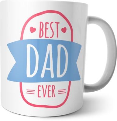 Chiraiyaa Happy Fathers Day - Forever Friend Best Dad Ceramic Mug