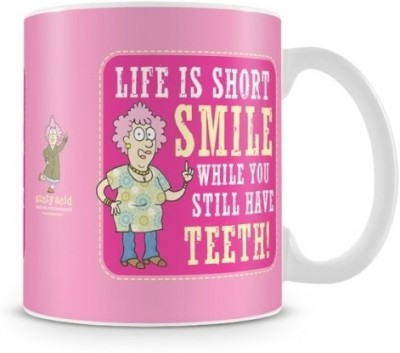 Aunty Acid Life is short Ceramic Mug