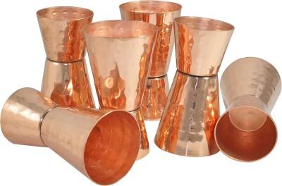 Dakshcraft Bar Collection Solid Jigger Copper Mug