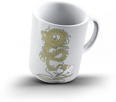 Ucard Dragon Flavor308 Bone China, Ceramic, Porcelain Mug