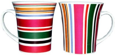 SNYTER Florocent stipe ways Ceramic Mug
