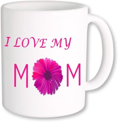 A Plus i love my mom.jpg Ceramic Mug