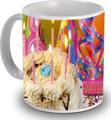 Print Helllo Happy Birthday R188 Ceramic Mug