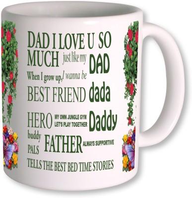 PhotogiftsIndia Happy Fathers Day 010 Ceramic Mug