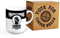 Happily Unmarried Procrastinator Ceramic Mug(250 ml) best price on Flipkart @ Rs. 275