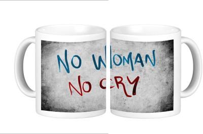 Shopmillions No Woman No Cry Ceramic Mug