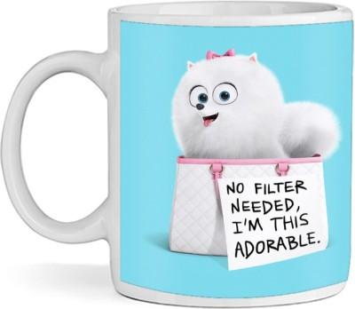 SBBT No Filter Needed I,m This Adorable Ceramic Mug