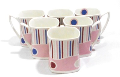 Classique set of 6 Pcs Designer Bone China Mug