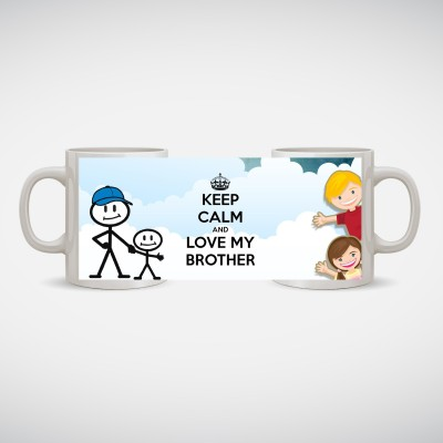Capturing Happiness brother Ceramic Mug
