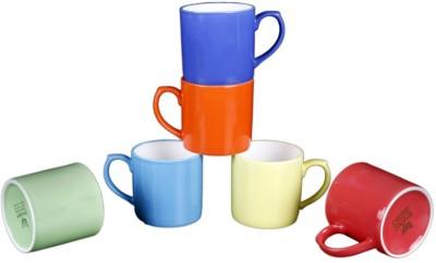 BP Bharat Miniraja Mix Color Bone China Mug