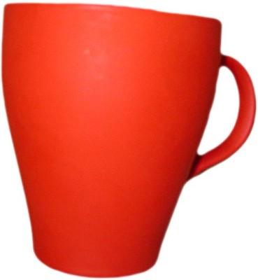 DCS Orange Classic and Stylish  Porcelain Mug