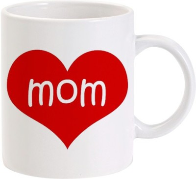 Lolprint MOM Heart Ceramic Mug