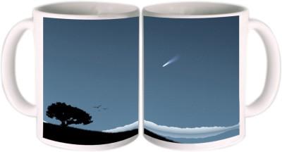 Shopkeeda Comet Ceramic Mug