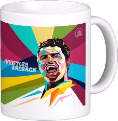 Exoctic Silver Chennai Super King IPL Series XXX 011 Ceramic Mug