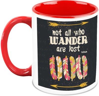 HomeSoGood Not All Who Wander Are Lost Ceramic Mug