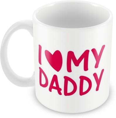AKUP i-love-my-dady Ceramic Mug