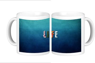 Shopmillions Awesome Life Ceramic Mug