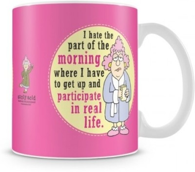Aunty Acid Participate in real Life Ceramic Mug