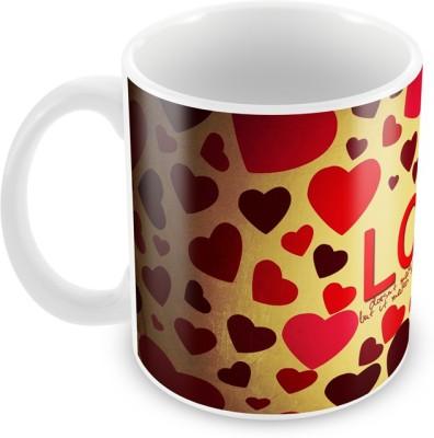 AKUP Valentine Love Ceramic Mug