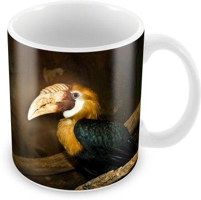 Prinzox Nature Lovers Hornbill Bird Lover Ceramic Mug